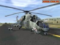 Ми 24 в Operation Flashpoint/ArmA:CWA (фото)