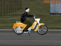 Аддон мотоцикла Ява-50 (тип 21) от RabbiT
