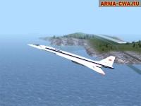 Аддон самолёта Ту-144 от SovietKoT
