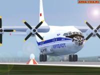 Аддон-пак самолётов Ан-12 от Mapfact