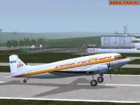 Аддон-пак самолёта DC-3 Douglas от Mapfact