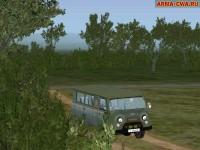 Аддон автомобиля УАЗ-3741 от MaNIaC