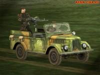 Аддон автомобиля ГАЗ-69 из CSLA II