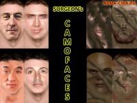 Пак лиц CamoFaces от Surgeon (фото)