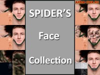 Пак лиц Spider's Face Collection