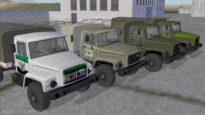 Аддон пак грузовиков ГАЗ 3308 от Канстанцін Астрожскі (фото)